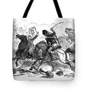 Battle Of Cowpens, 1781 Tote Bag