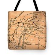 Battle Of Gettysburg, 1863 Tote Bag