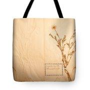 Beautiful Dried Vintage Flowers Tote Bag
