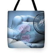 Bed Bugs And Sleeping Tote Bag