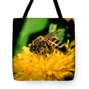 2 Bee Or Not 2 Bee Tote Bag