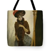 Before The Swing Mirror Tote Bag