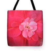 Begonia Named Nonstop Pink Tote Bag