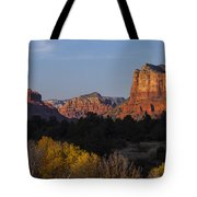 Bell Rock And Courthouse Butte Tote Bag