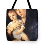 Bellini's Madonna And Child Tote Bag
