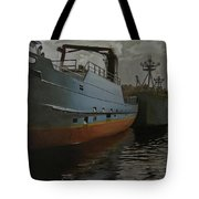 Bering Sea Tote Bag