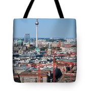 Berlin Cathedral And Tv Tower Tote Bag