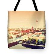 Berlin Germany View On Major Landmarks Tote Bag