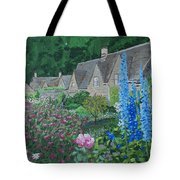 Bibury Gardens Tote Bag