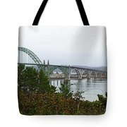 Big River Bridge Oregon Coast Tote Bag