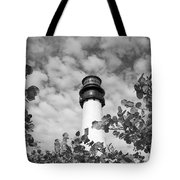 Bill Baggs Lighthouse Tote Bag by Eyzen Medina