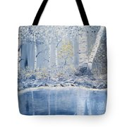 Birch Reflections Tote Bag