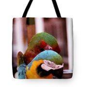 2 Birds Tote Bag