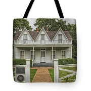 Birth Home Of Dwight D Eisenhower - Denison Texas Tote Bag