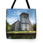 Bisham Church Tote Bag