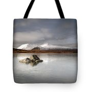 Black Mount And Lochan Na H-achlaise Tote Bag