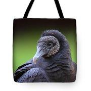 Black Vulture Portrait Tote Bag
