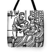 Bloodletting, 16th Century Tote Bag