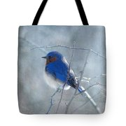 Blue Bird  Tote Bag