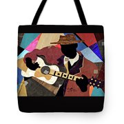 Blues Boy Tote Bag