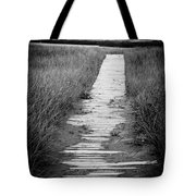 Boardwalk Through The Dunes Tote Bag