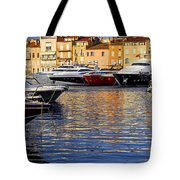 Boats At St.tropez Tote Bag