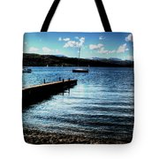 Boats In Wales Tote Bag