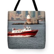 Boats On The Water Tote Bag