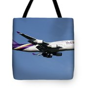 Boeing 747-400 Of Thai International Tote Bag