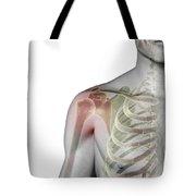 Bones Of The Shoulder Tote Bag