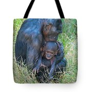 Bonobo Mother And Baby Tote Bag