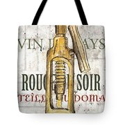 Bordeaux Blanc 1 Tote Bag