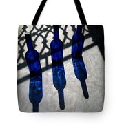 Bottles Shadows And Sunlight Tote Bag