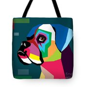 Boxer  Tote Bag by Mark Ashkenazi