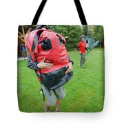 Boy Scouts Canoeing On The Bowron Lakes Tote Bag