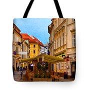 Bratislava Old Town Tote Bag