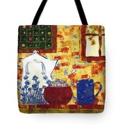 Breakfast With Pearl Jam Tote Bag