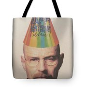 Breaking Bad Walter White Happy Birthday Tote Bag