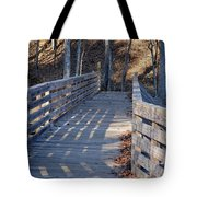 Bridge To The Forest Tote Bag