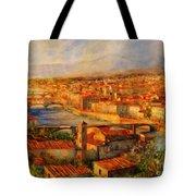 Bridges Of Florence Tote Bag