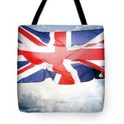 British Flag 3 Tote Bag