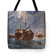 British Prison Ship Tote Bag