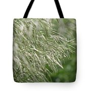 Brome Grass In The Hay Field Tote Bag