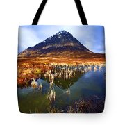 Buachaille Etive Mor Scotland Tote Bag by Craig B