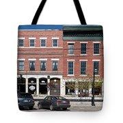 Buildings Along A Street, Thomaston Tote Bag