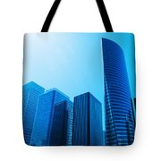 Business Skyscrapers Tote Bag