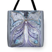 Butterfly Goddess Tote Bag by Judy M Watts-Rohanna
