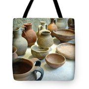 Byzantine Pottery Tote Bag