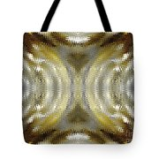 Cafe Au Lait Kaleidoscope Tote Bag