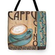 Cafe Nouveau 1 Tote Bag by Debbie DeWitt